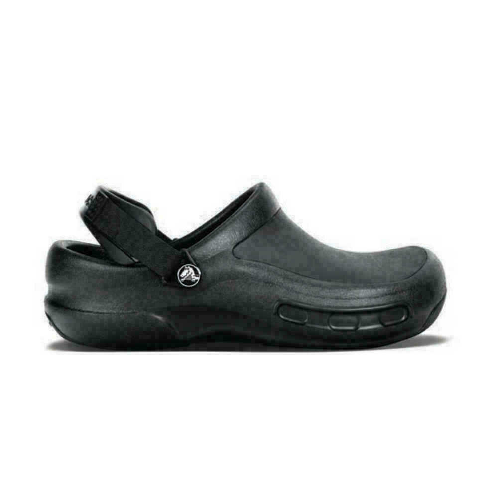 senza senso Umano inflazione  SAFETY WORK SHOES CROCS BISTRO PRO BLACK