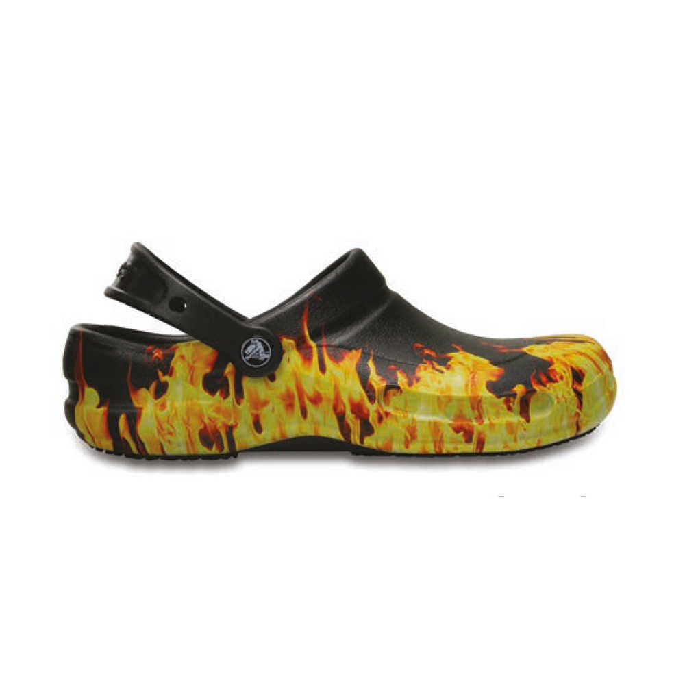 WORK SHOES CROCS BISTRO GRAPHIC FLAME
